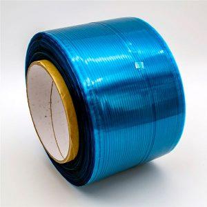 Kék / piros film tartós zsáktömítő szalag