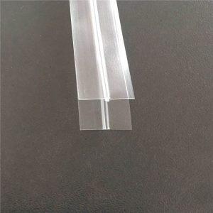 Átlátszó műanyag zsák cipzár